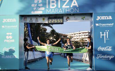 El olímpico español Dani Mateo y el atleta local Wiliam Aveiro pulverizan el récord del Relay 21k+21k del Santa Eulària Ibiza Marathon