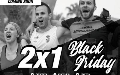 El Ibiza Marathon celebra el Black Friday con un 2×1 en todas sus carreras durante este viernes 23 de noviembre