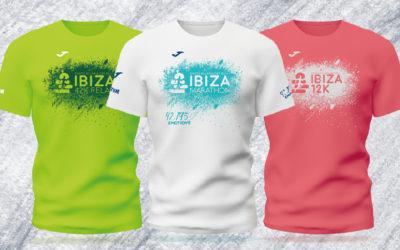 Ibiza Marathon, Ibiza 42K Relay e Ibiza 12K presentan sus nuevas camisetas conmemorativas de la marca Joma