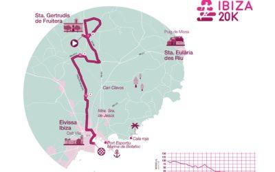 El circuito de la nueva 20k del Ibiza Marathon tendrá como salida Santa Gertrudis y llegada en el puerto de Ibiza