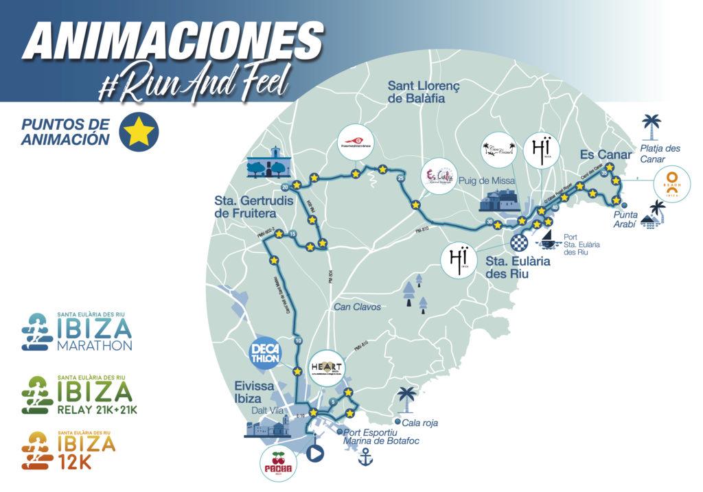 animaciones Ibiza Marathon