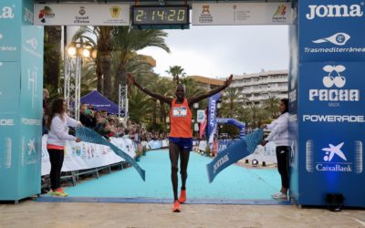 Third edition of men's and women's records for the Ibiza Marathon and its 12K