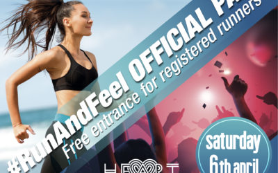 Heart Ibiza will host the #RunAndFeel party free for all marathon, 12K and 42K Relay runners