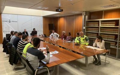 Ibiza Marathon articula un dispositivo de seguridad y concienciación ciudadana por las zonas en las que transcurrirá la carrera