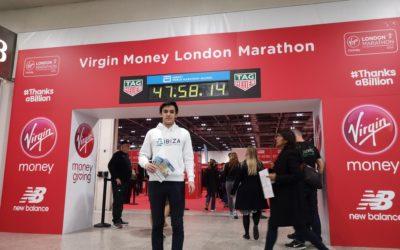 El Ibiza Marathon viaja al maratón de Londres en el inicio de su campaña promocional para 2020