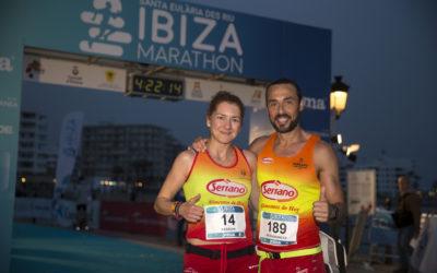 Natacha López y David Serrano serán los embajadores de la primera edición del medio maratón por relevos Ibiza 42K Relay