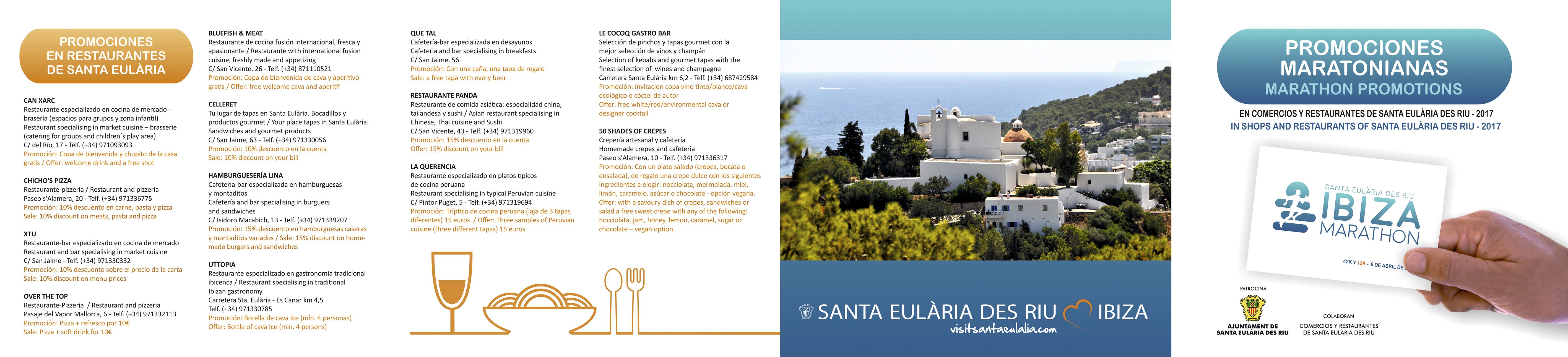 Promoción Restaurantes Santa Eulalia