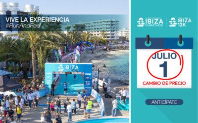 El Ibiza Marathon y su 12K apuran los últimos días antes del cambio de precio