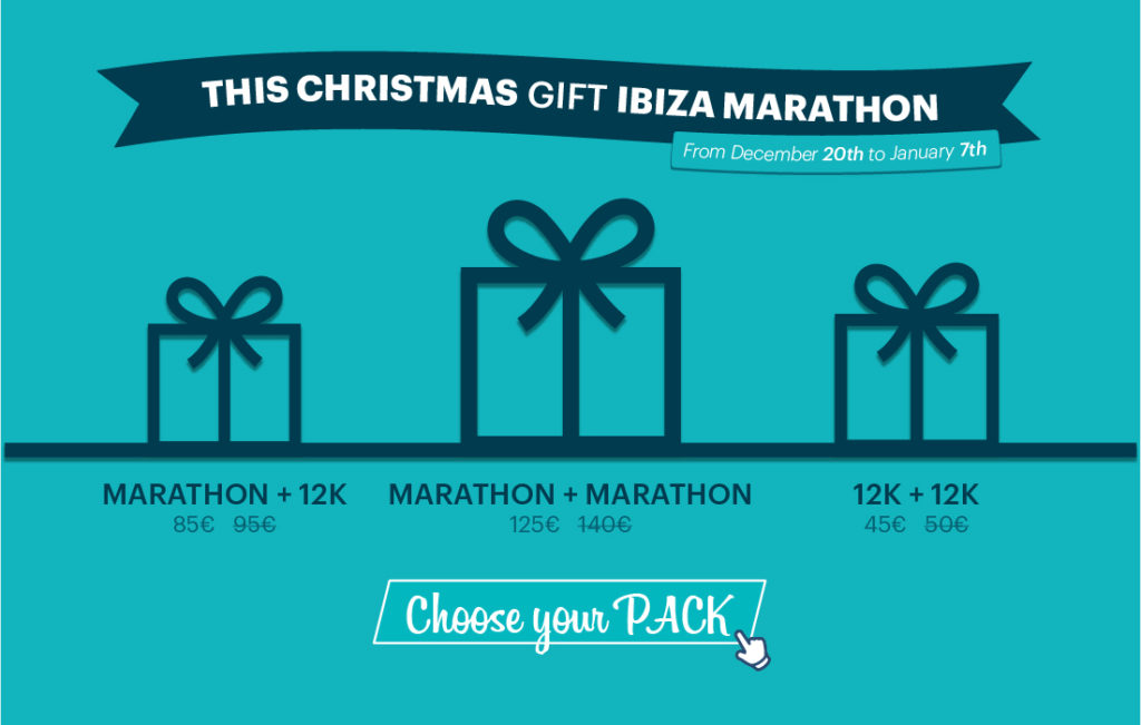 this is an exclusive limited time offer to run in ibiza that can only be found on the ibiza sports travel platform isnt it the best christmas present