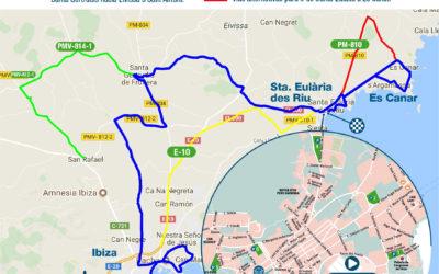 El Ibiza Marathon prevé a la ciudadanía sobre los cortes de vía durante la carrera