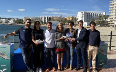 Dani Rovira presenta las nuevas zapatillas oficiales Joma Ibiza Marathon