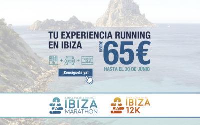 ¡Anticípate y vive el fin de semana del Ibiza Marathon e Ibiza 12K desde 65 euros!